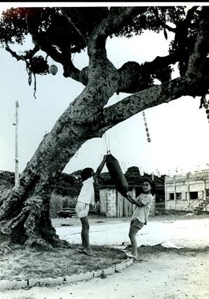 72年沖縄南部にて.